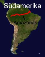 Süßwasserkugelfischvorkommen in Südamerika